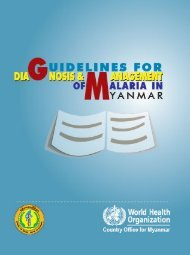 MMR National Treatment Guideline Final 2011.pdf - WHO Thailand ...