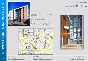 Plaza Largo Äyritie 8, Vantaa - Toimitilat.fi
