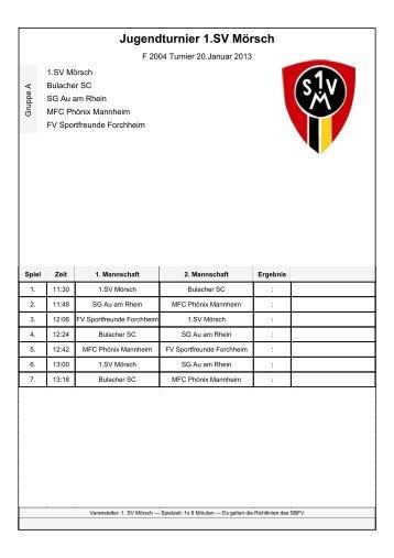 SO 3 F 2004 Turnier 20121213_V2.0 fertig - 1. SV Mörsch
