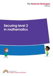 Securing level 2 in mathematics - Fronter