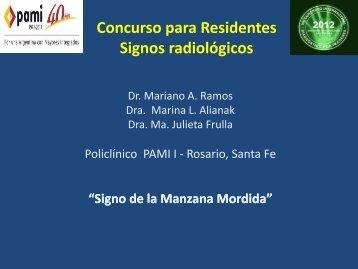 Signo de la Manzana Mordida - Congreso SORDIC