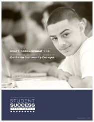 Student Success Task Force - The Campaign for College Opportunity