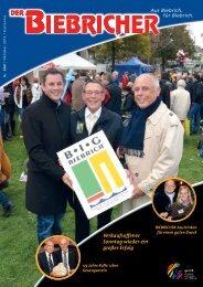 DER BIEBRICHER, Ausgabe 263, Oktober 2013