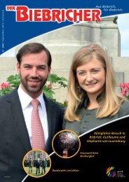 DER BIEBRICHER, Ausgabe 262, September 2013