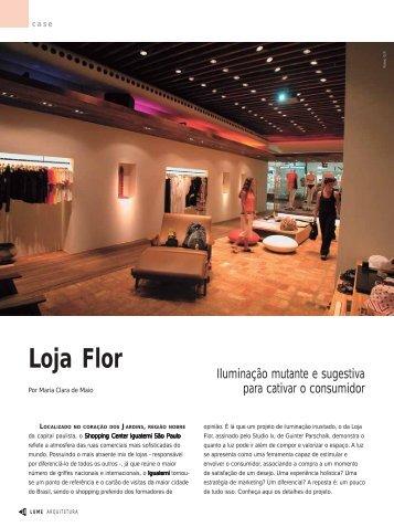 Loja Flor - Lume Arquitetura