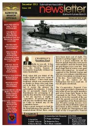 December 11 - Barrow Submariners Association