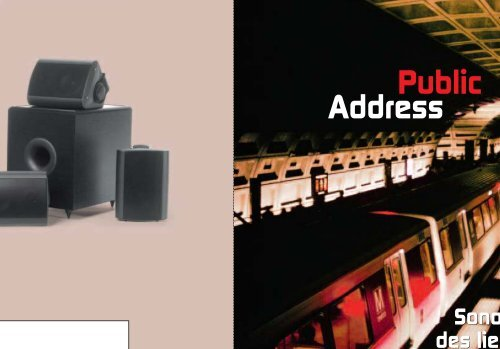 Precision Power Bandes Double Zone /égaliseur Graphique avec entr/ée auxiliaire et Caisson de Basses ind/épendant contr/ôle