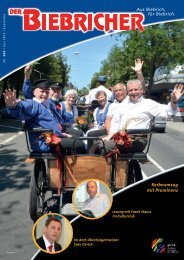 DER BIEBRICHER, Ausgabe 260, Juli 2013