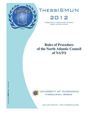Rules of Procedure of the North Atlantic Council of NATO
