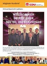 Rundbrief Januar 2012 - CDU Ortsverband Bernauer Straße