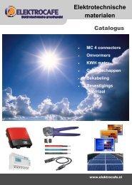 Zonne-energie Catalogus 2013 - V11 EC 1 - Elektrocafe