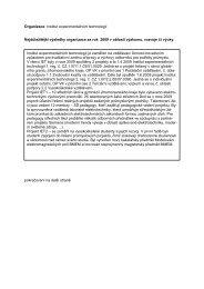 výroční zpráva Institutu experimentálních technologií - UTEE