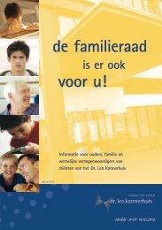 de familieraad voor u! - Dr. Leo Kannerhuis