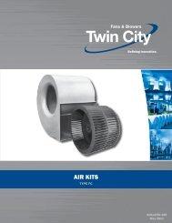 Air Kits - Type FC - Catalog 150 - Twin City Fan & Blower