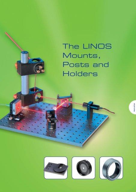 The LINOS Mounts, Posts and Holders - Qioptiq Q-Shop