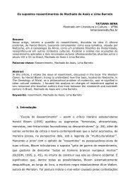 Os supostos ressentimentos de Machado de Assis e Lima Barreto ...