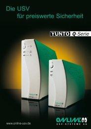 Datenblatt YUNTO Q-Serie - ONLINE USV-Systeme