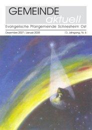 aktuell - Evangelische Kirche Schriesheim