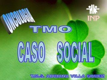TMO Caso Social - Instituto Nacional de Pediatría