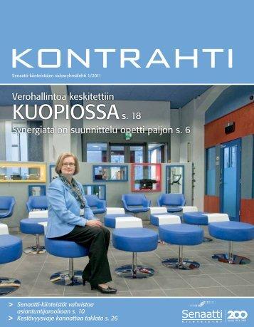 1/2011 - Senaatti-kiinteistöt