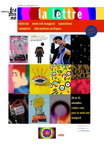éditorial week-end inaugural expositions calendrier informations ...