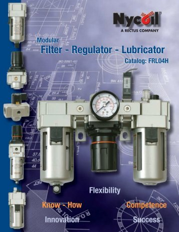 Regulator - Lubricator - Nopak Canada