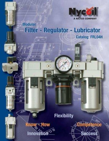 Regulator - Lubricator - Nopak Canada