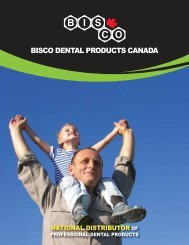 BISCO DENTAL PRODUCTS CANADA - dentes.sk