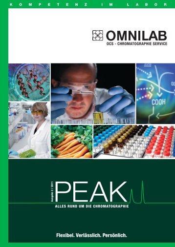 PEAK - Alles rund um die Chromatographie - omnilab