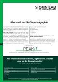 PEAK - Alles rund um die Chromatographie - omnilab - Seite 2