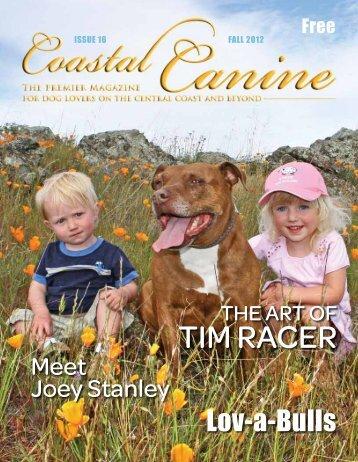 Tim rAcer - Coastal Canine Magazine