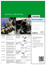 Kühl-Flex | HEB MiniPlug - Friedrich Britsch GmbH & Co. KG