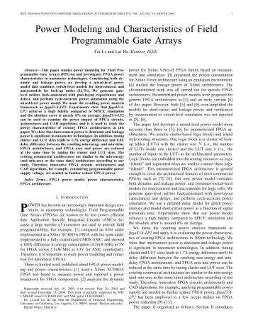 architecture and application a field programmable gate An fpga-based hardware realization of matrix multiplication based on a parallel architecture the of matrix multiplication using field programmable gate.