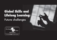 Global Skills and Lifelong Learning: - Support