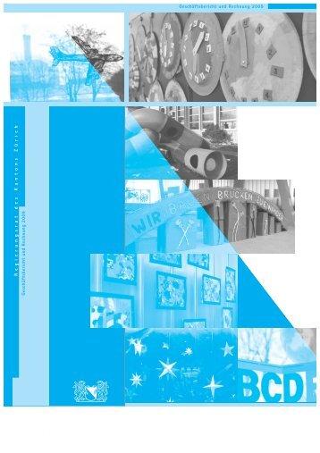 Geschäftsbericht und Rechnung 2009 - Regierungsrat - Kanton Zürich