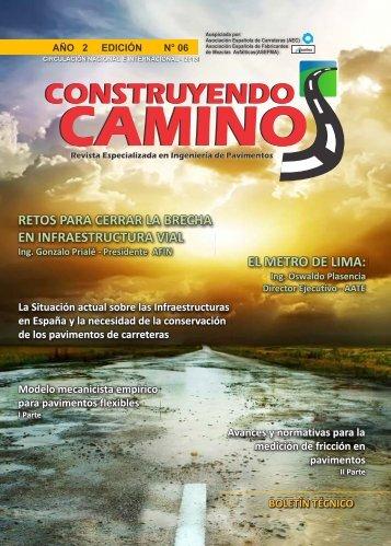 Revista Construyendo Caminos, nº 6 - Ivia