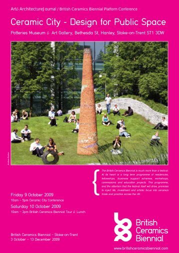 Ceramic City - Design for Public Space - Ixia