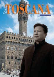 La TOSCANA - Supplemento al n. 18 Settembre 2014