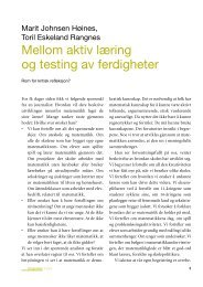 Hele bladet - Caspar Forlag AS