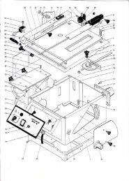 HEGNER Accura MK4 Parts Diagram - Advanced Machinery