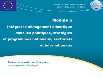Module 6 - Global Climate Change Alliance