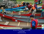 Bronx River Alliance 2009 Annual Report