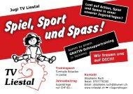 Spiel, Sport und Spass! - TV Liestal