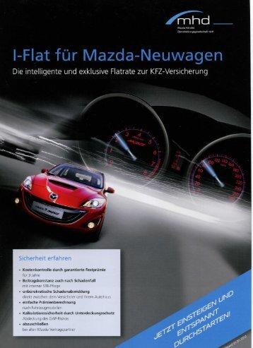 Flat für Mazda-Neuwagen - Mazda Autohaus Rottmann