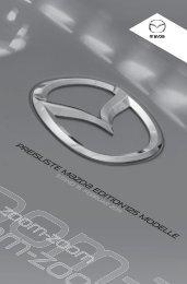 Mazda3 Edition125 Preisliste (PDF) herunterladen [350 kB]