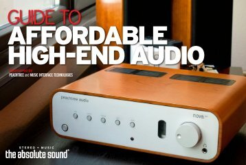 affordable high-end audio