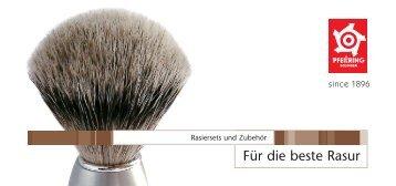 Für die beste Rasur - PADISA VARELL