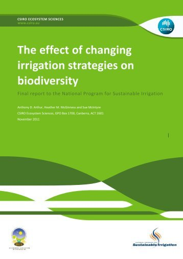 The effect of changing irrigation strategies on biodiversity.pdf