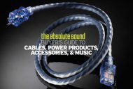 Cables, Power Products, Accessories, & Music