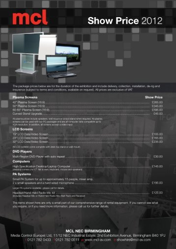 Price List - Nextgen